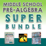 Middle School Pre-Algebra Super Bundle