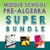Middle School Pre-Algebra Super Bundle