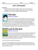 Middle School Reader's Workshop Book List