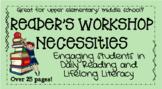 Middle School Reader's Workshop Necessities