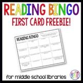 Reading Bingo | First Card Freebie