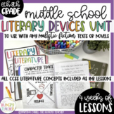 Middle School Reading Literature Unit | Realistic Fiction | Interactive Notebook