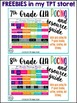 Middle School Reading Rubric Writing Rubric Language Rubric