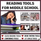 Middle School Reading Tools Bundle