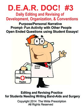 DEAR DOC-Daily Editing and Revising of Development Organization & Conventions #3