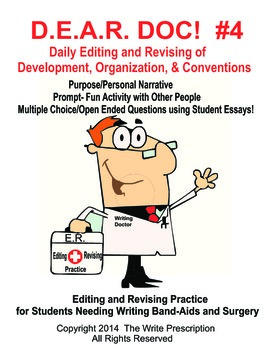 DEAR DOC-Daily Editing and Revising of Development Organization & Conventions #4
