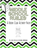 Middle School Rules- Boys' Leadership Book Club