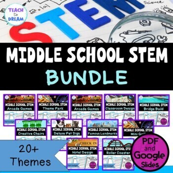 Middle School STEM Challenges: GROWING BUNDLE! - Design, Engineer, Build!