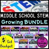 Middle School STEM Challenges: GROWING BUNDLE! - Design, E