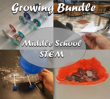 Science Activities & STEM Challenges Bundle (Growing Bundle)