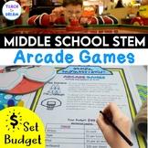 Middle School STEM Task, STEAM Challenge: Arcade Games