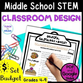 Middle School STEM Task, STEAM Challenge: Classroom Design