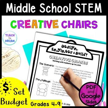 Middle School STEM Task, STEAM Challenge: Creative Chairs