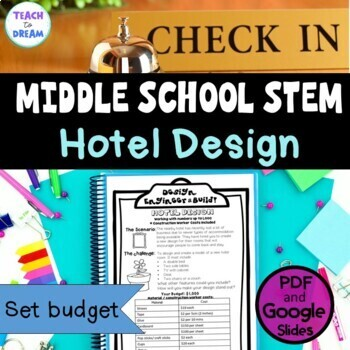 Middle School STEM Task, STEAM Challenge: Hotel Design