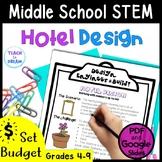 Middle School STEM Task, STEAM Challenge: Hotel Design