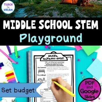 Middle School STEM Task, STEAM Challenge: Playgrounds