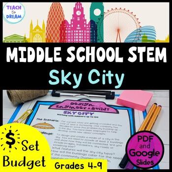 Middle School STEM Task, STEAM Challenge: Sky City