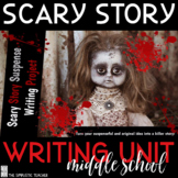 Middle School Scary Story Writing Project-Google Classroom