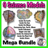 Middle School Science: 3D Model Bundle - Save 25% on 9 Hands On Activities