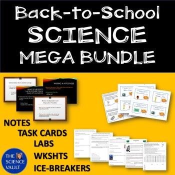 Middle School Science Mega Bundle