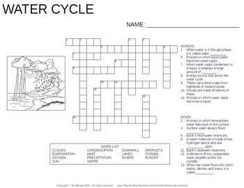 Science Crossword Puzzles : Chemistry, Biology, Geology, Astronomy, and More!