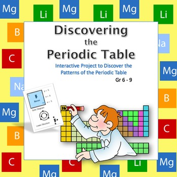 Middle school science discovering periodic table patterns tpt middle school science discovering periodic table patterns urtaz Gallery