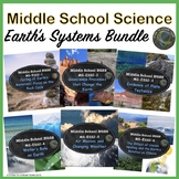 Middle School Science Earth's System's Bundle