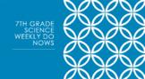 Middle School Science FSA/FCAT Do Now Review