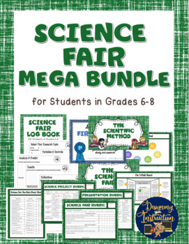 Middle School Science Fair COMPLETE Plans & Student Materials