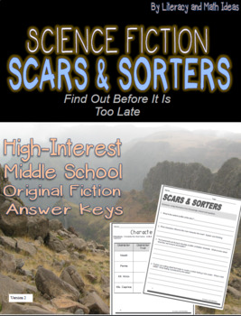 Middle School Science Fiction Close Reading Practice:  Sca