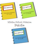 Middle School Science Notebook Bundle