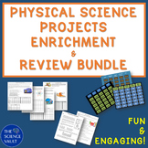 Middle School Science Projects & Games Bundle