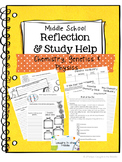 Middle School Science Reflections and Study Help-Chemistry