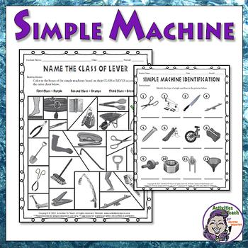 Simple Machines Worksheets Tim S Printables