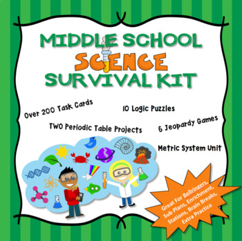 Middle School Science Survival Kit - Mega Bundle!