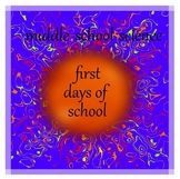 Middle School Science Skills: First Days of School Activities