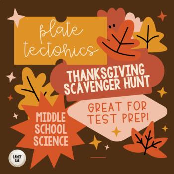 Thanksgiving Scavenger Hunt - Plate Tectonics