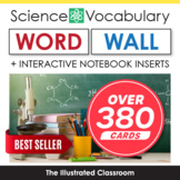Science Word Wall & Interactive Notebook Inserts Bundle
