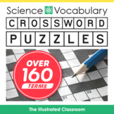 Middle School Science Vocabulary Crossword Puzzles