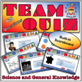 Middle School Science and General Knowledge Team Quiz