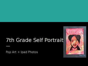 Middle School Self-Portrait Project