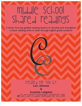 Middle School Shared Readings