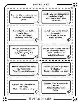 Middle School Social Skills Bundle for Speech Therapy