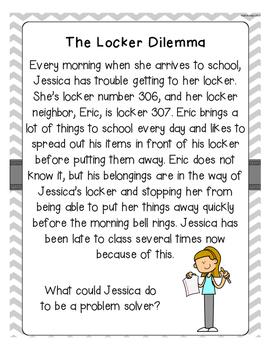 Middle School Social Stories FREEBIE!