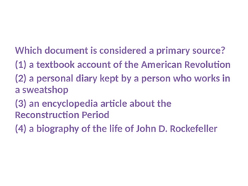 Bell Ringers/Question of the Day/Exit Questions for Social Studies
