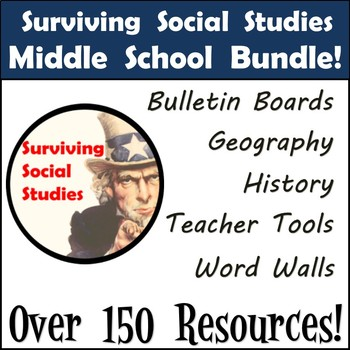 Middle School Social Studies Resources to Supplement Your Curriculum!