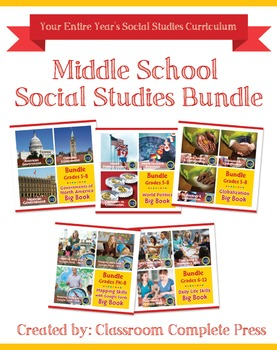 Middle School Social Studies Bundle Gr. PK-12