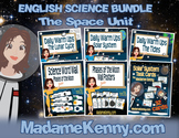 Middle School Space Unit Science Bundle