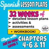 Middle School Spanish Curriculum Year 2 (Así se dice) + Workbook