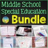 Middle School Special Education BUNDLE